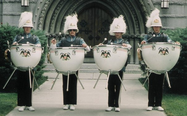 Yes. Marching Timpani. (1976 Bluecoats) #TBT