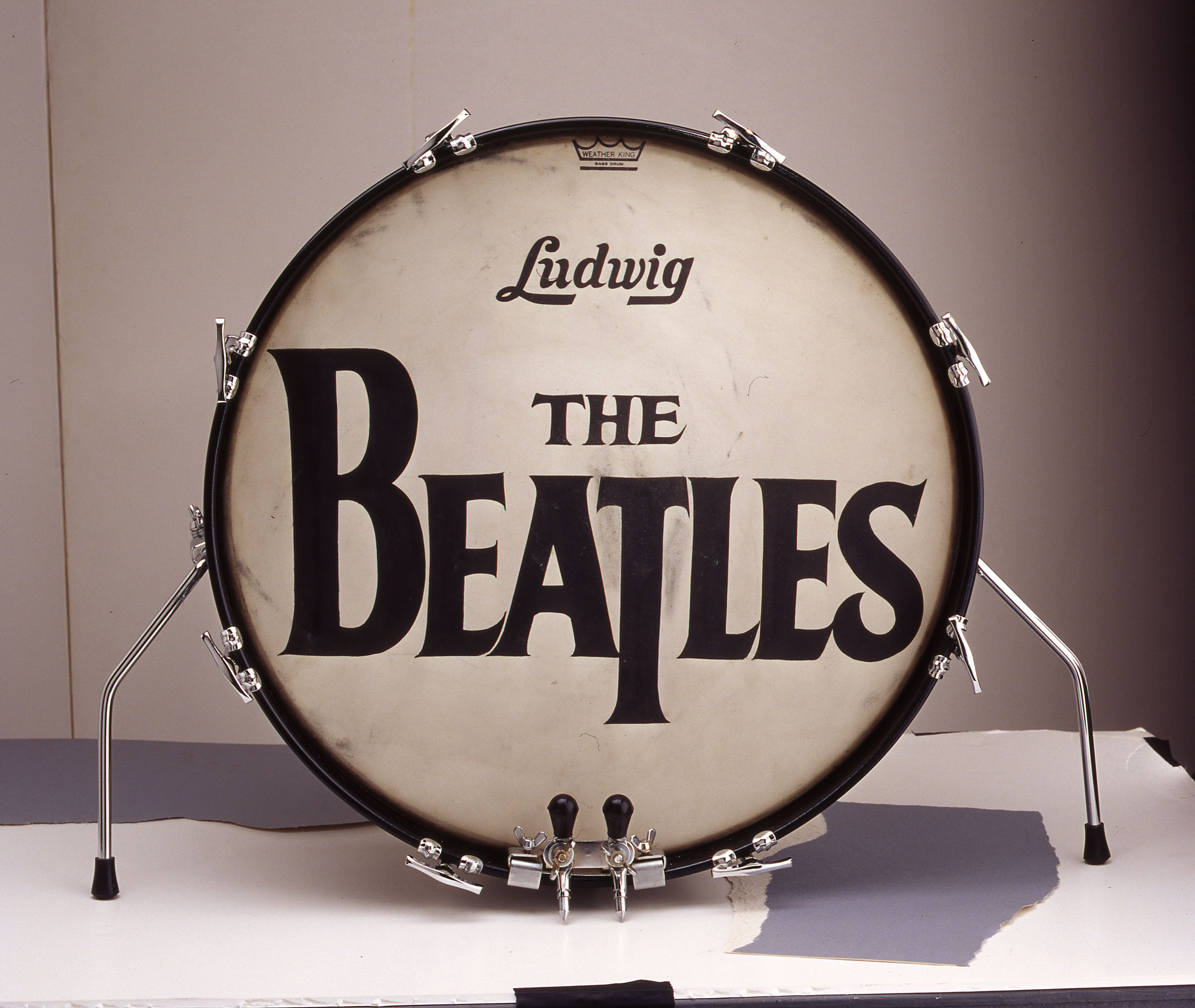 Bass Drum Head Sold For 21 Million