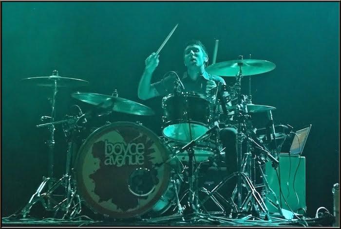 Boyce Avenue Drummer Interviewed