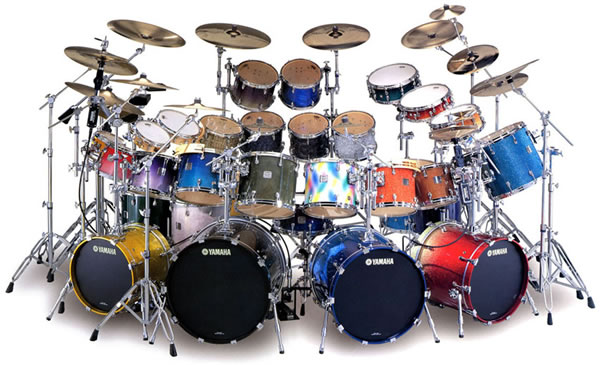 Every drum Yamaha makes in one kit! #monsterkitmonday