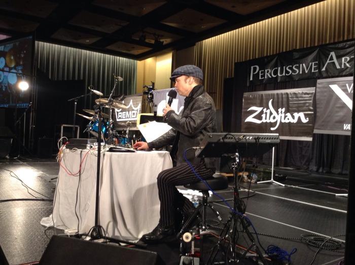 """Shawn Pelton, """"The Hybrid Drummer"""" #PASIC14"""