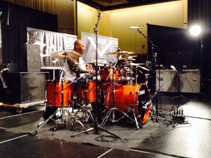 "Gorden Campbell, ""Secrets of the Working Drummer"" #PASIC14 Live Blog"