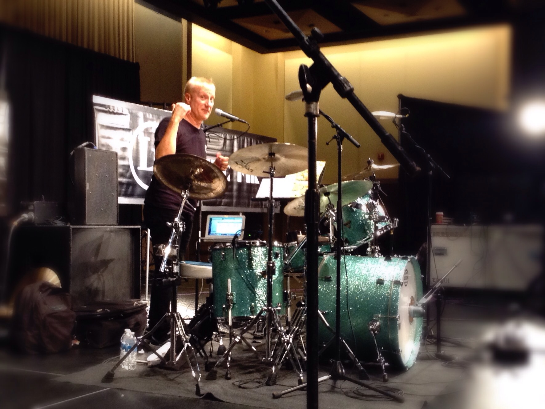 "Gregg Bissonette, ""Musical Drumming in Different Styles"" #PASIC14 Live Blog"