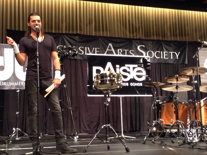 "Jason Sutter, ""From Brushes to Blast Beats"" #PASIC14 Live Blog"