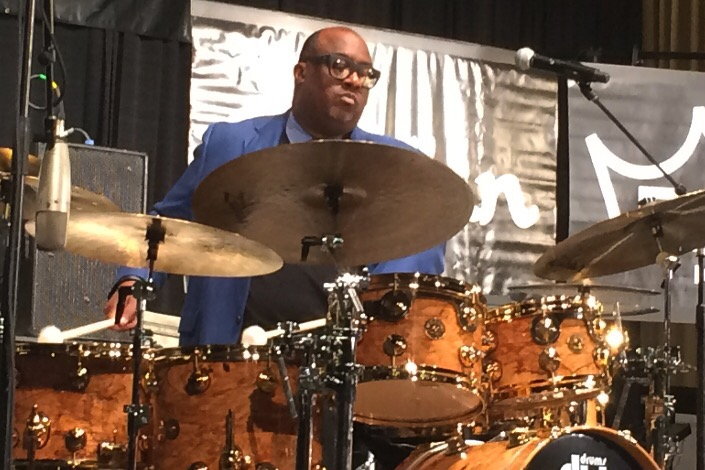 "Carl Allen, ""Drums as a Melodic Instrument"" #PASIC14 Live Blog"