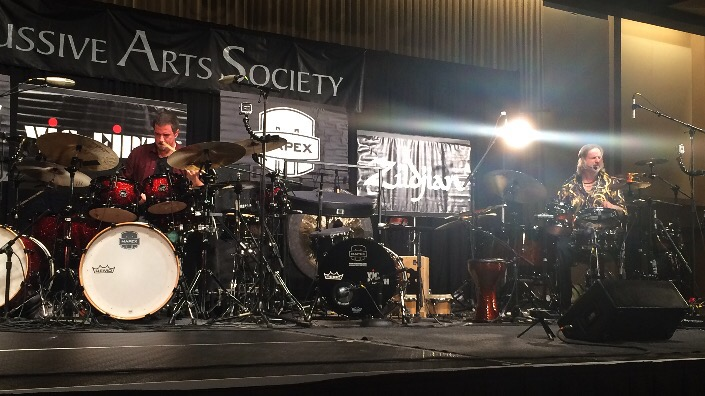 "Russ Miller and Pete Lockett, ""A North American and European perspective on Indian Rhythms for Drum Set and Percussion""  #PASIC14 Live Blog"