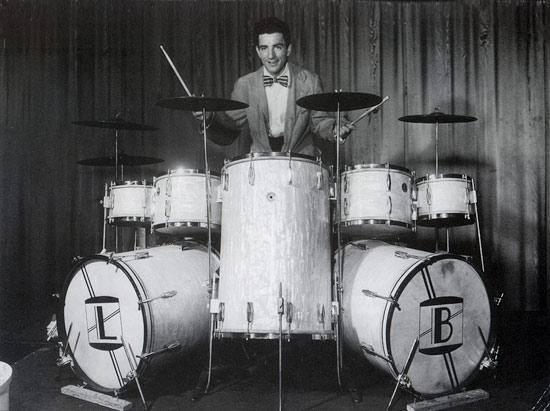 Louie Bellson: the original monster kit drummer! #monsterkitmonday