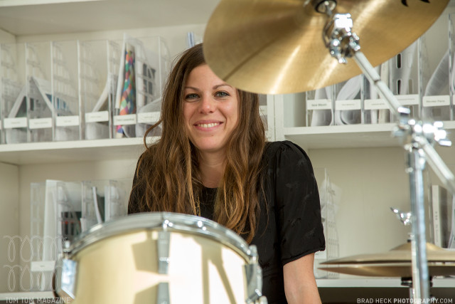 Drummer Takes Pride in Hitting Like a Girl