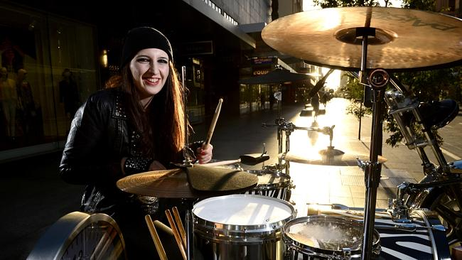 Female Drummer Sets New World Record