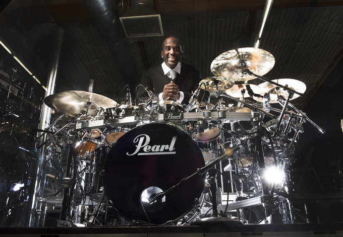 Brian Frasier-Moore Switches to Pearl Drums