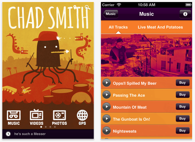 Chad Smith Drum App