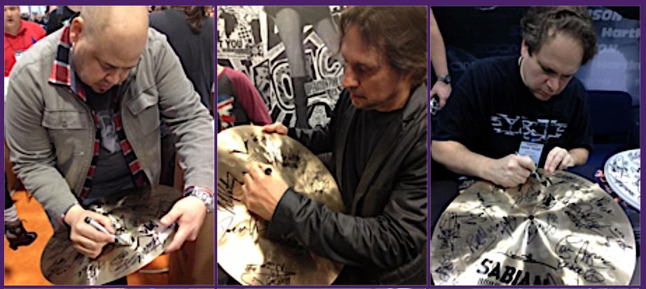 Mike Portnoy's Celebrity Cymbal Raffle