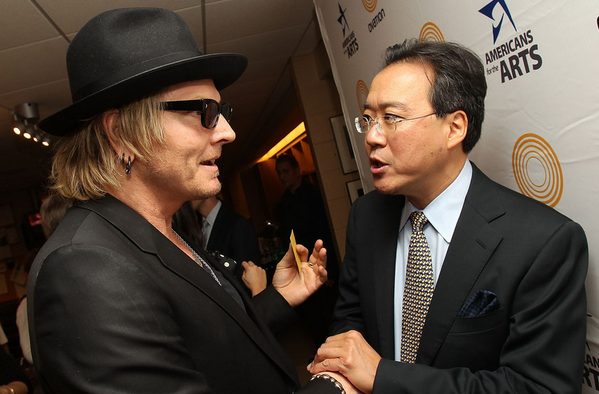 Yo-Yo Ma joins former Guns N' Roses drummer to call for arts funding