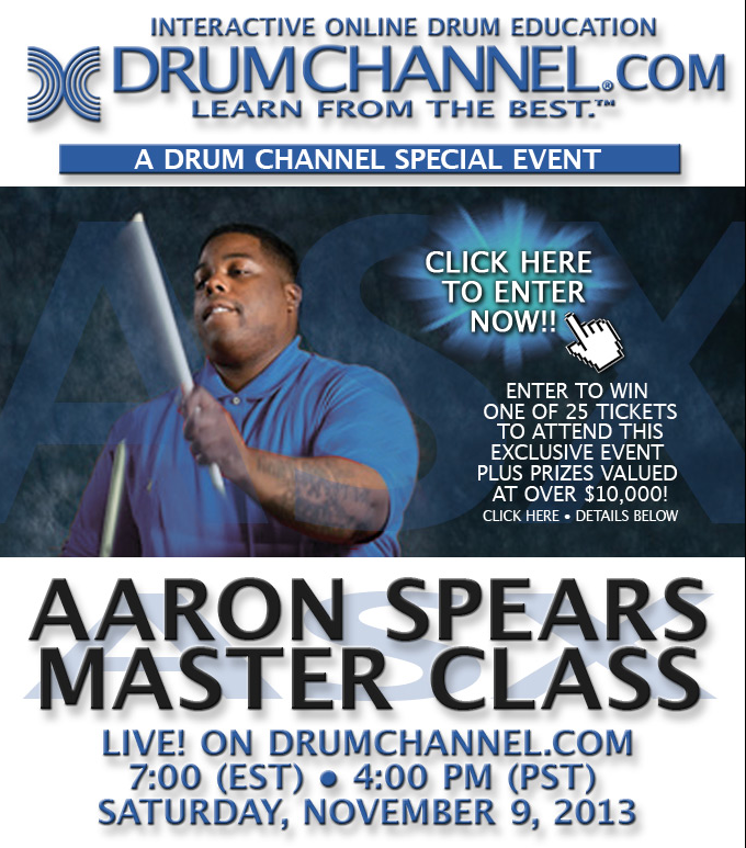 DrumChannel.com's Aaron Spears Contest