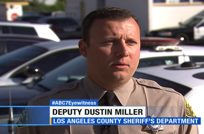 Los Angeles Deputy Going Viral on Drums