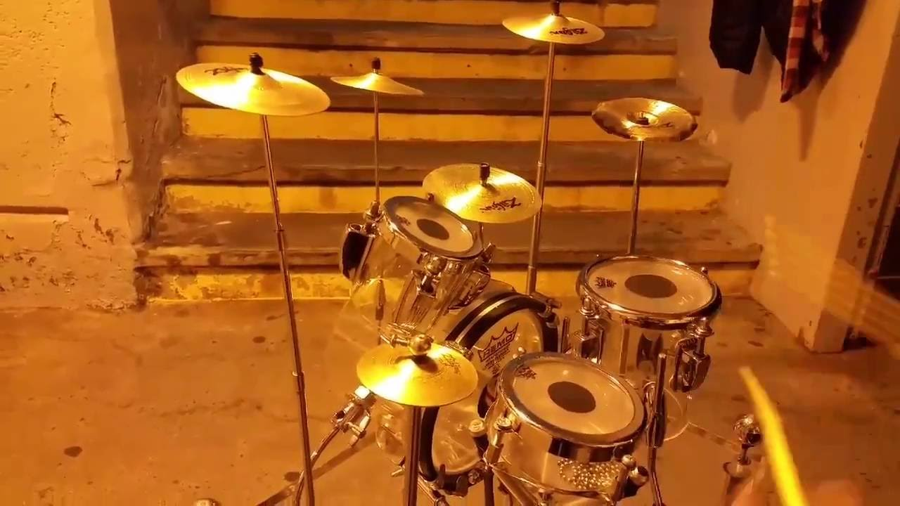 The Incredible-Sounding Tiny Drum Set