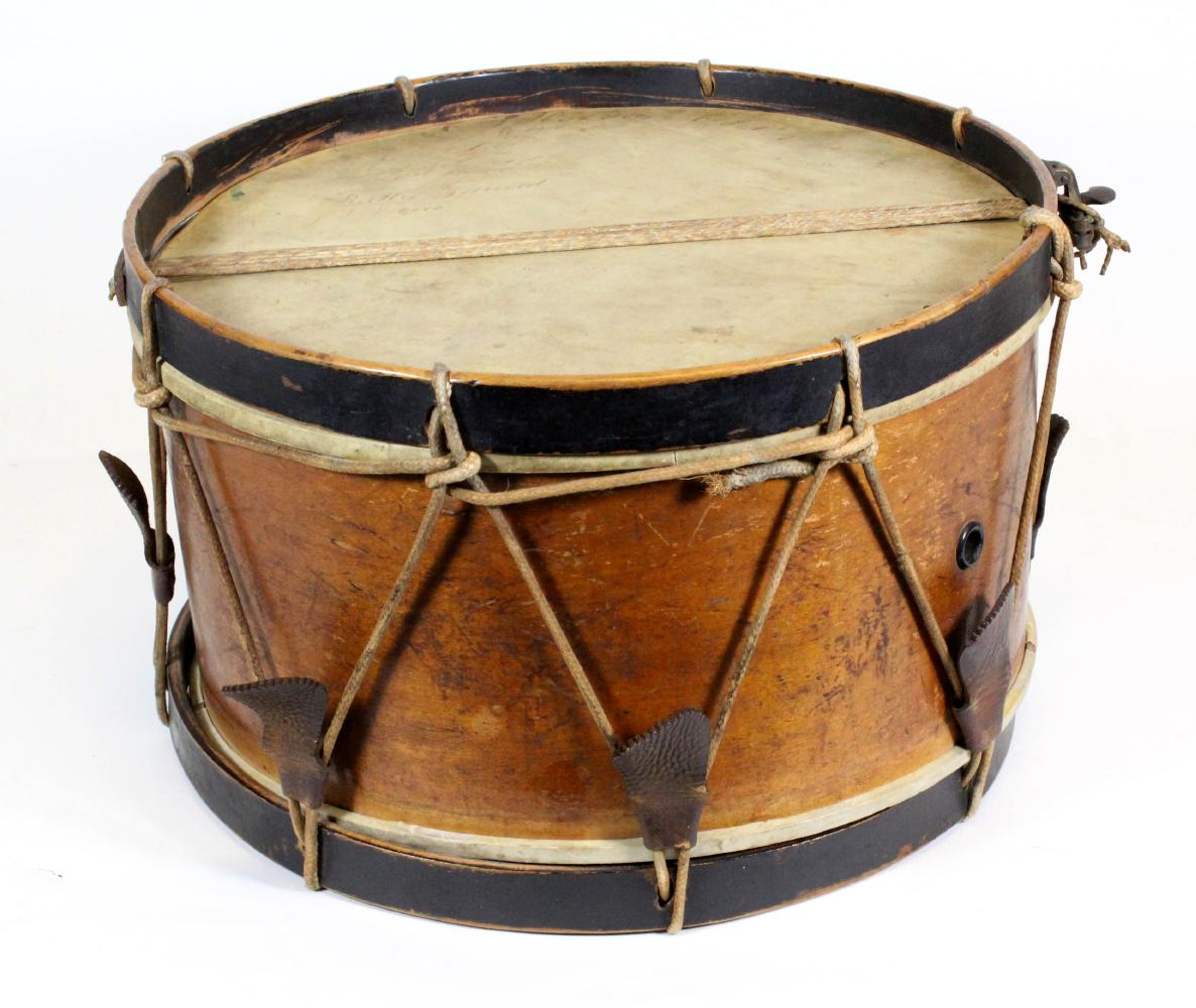 Drum from Civil War on Display