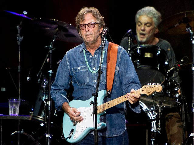 New Eric Clapton record due in March featuring Steve Gadd!