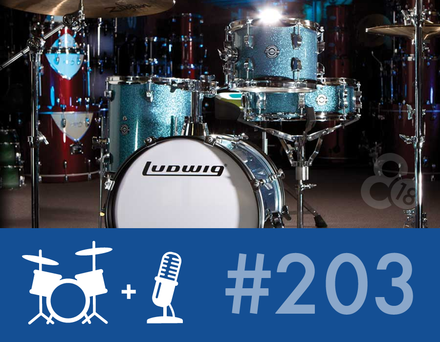 Drummer Talk 203 – Portable Gear