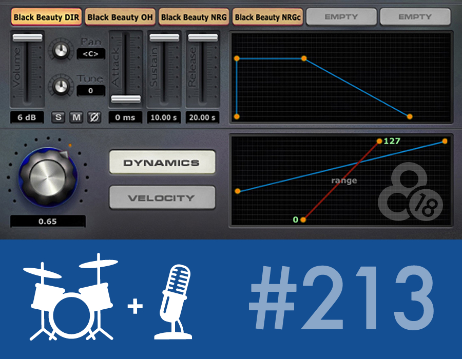 Drummer Talk 213 – The state of the modern studio drummer