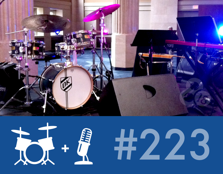 Drummer Talk 223 – The Art of Sitting In