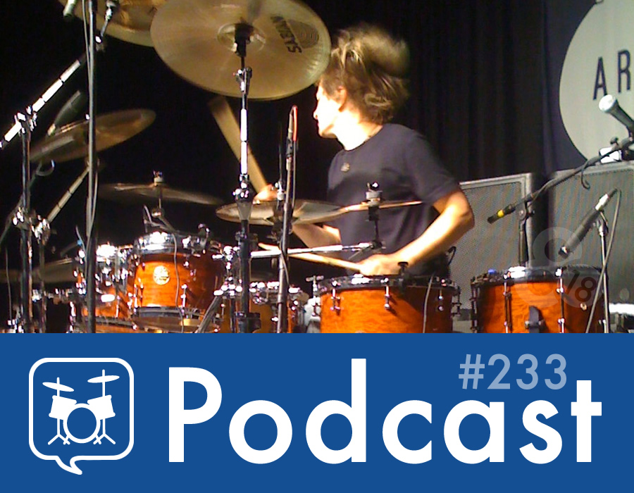 Drummer Talk 233 – PASIC 2014 Preview (Part 1)