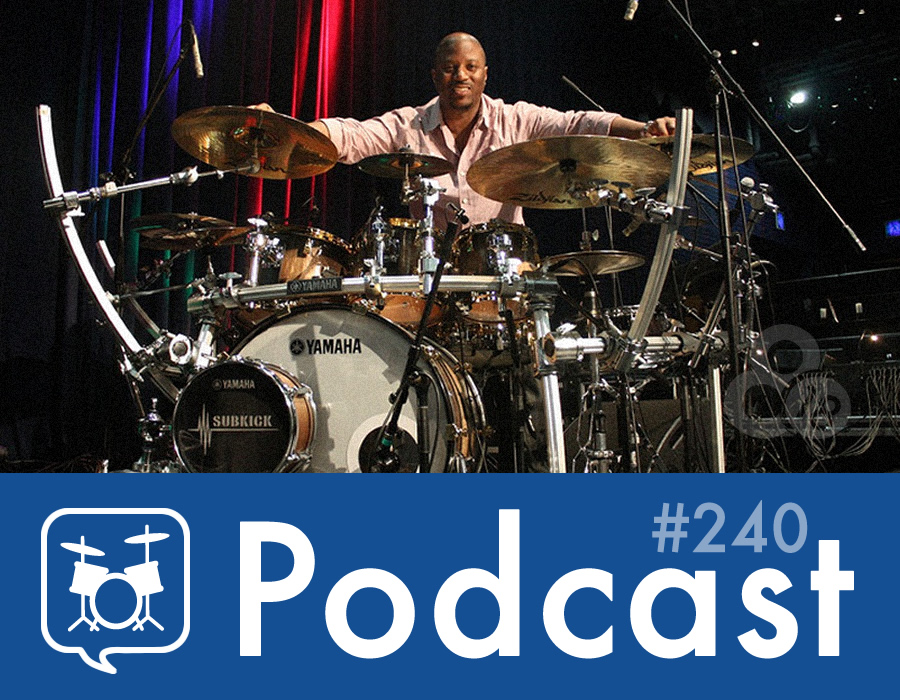 Drummer Talk 240 – An Interview with Gorden Campbell