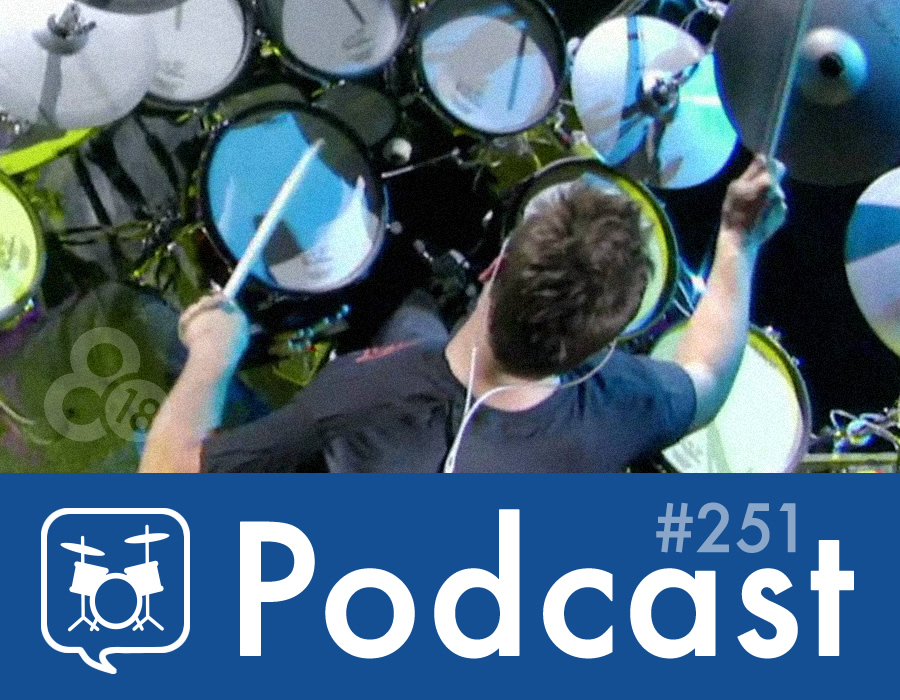 Drummer Talk 251 – Tips for Effectively Playing Electronic Drums