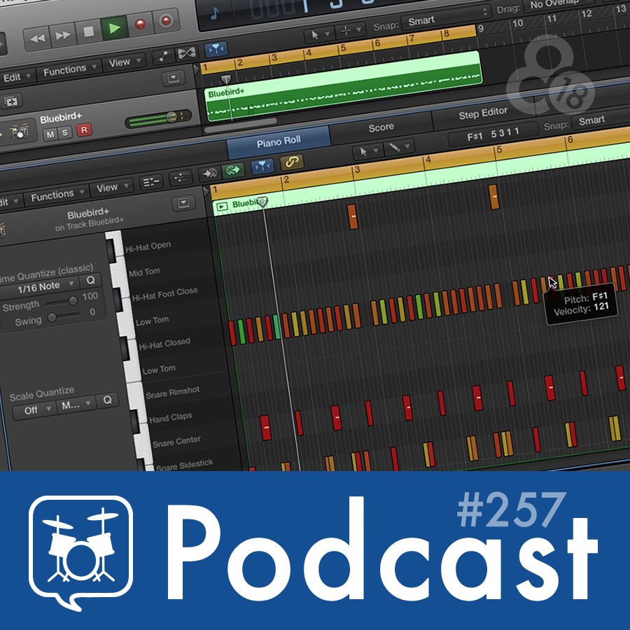 Drummer Talk 257 – Hands-On Drum Programming