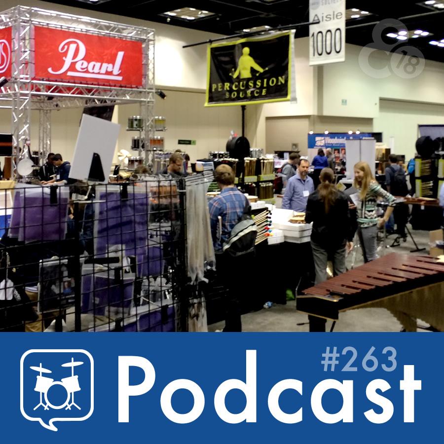 Drummer Talk 263 – PASIC15 Recap