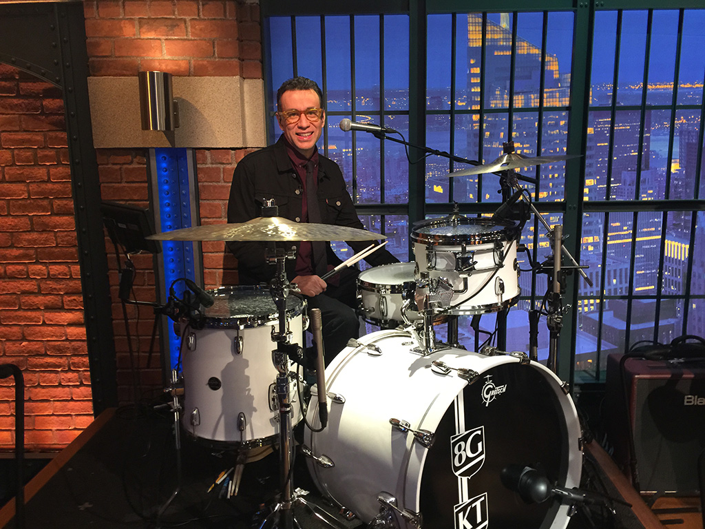 Fred Armisen's Favorite Drumming Albums 2016