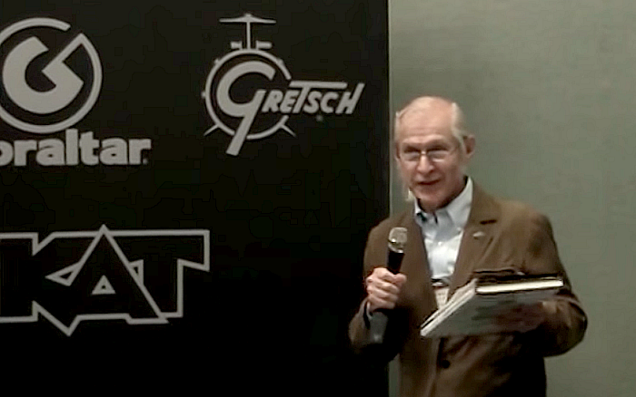 DW's Don Lombardi and Fred Gretsch speak about buyout at NAMM 2015