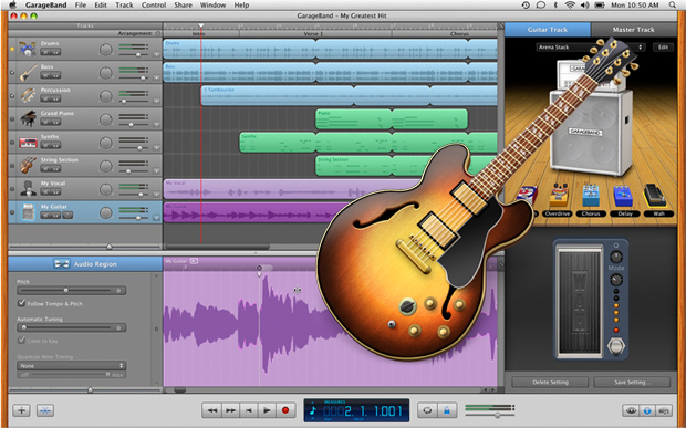 GarageBand update includes Live Loops and Drummer Features