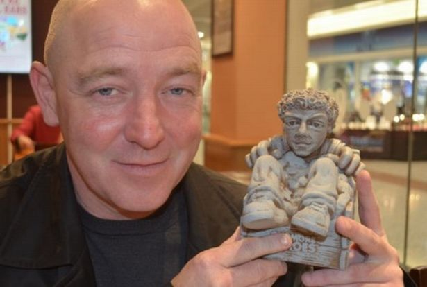 Oasis Drummer Immortalized as Garden Gnome
