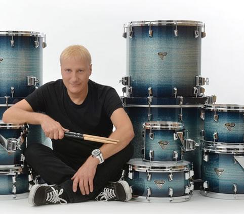 Gregg Bissonette moves to Dixon Drums