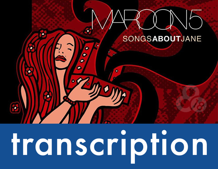 "Transcription – ""Harder to Breathe"""