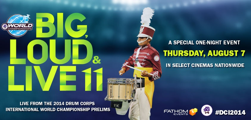 Watch DCI live in theaters TONIGHT!