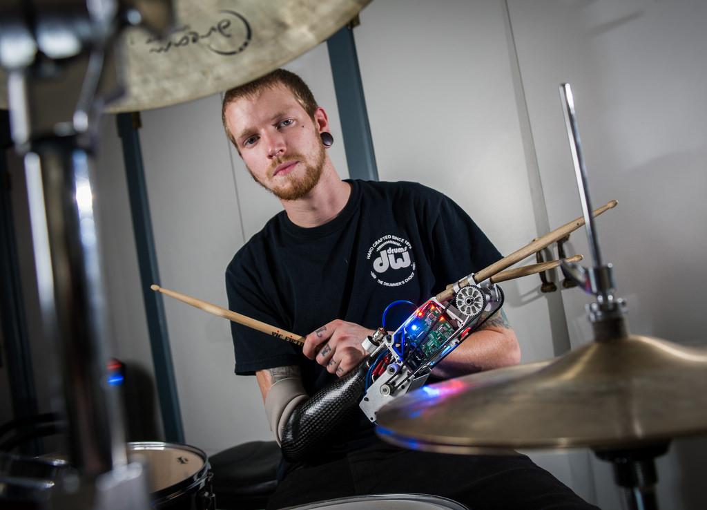 "Meet the ""Cyborg Drummer"""