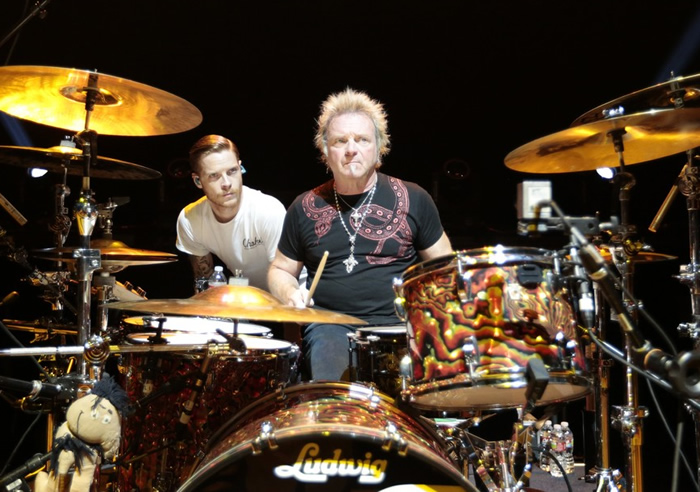 Jesse Kramer fills in for his dad on Aerosmith gigs