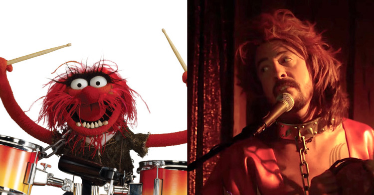 Drum Battle: 'Muppets' Animal vs. Dave Grohl