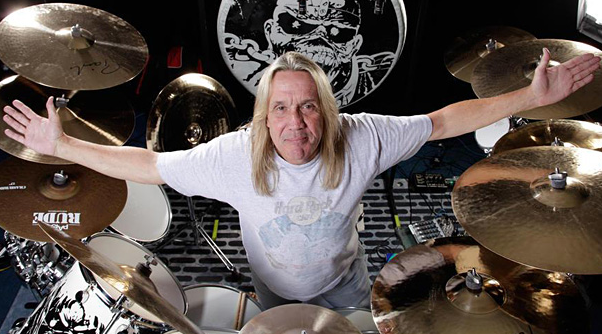 So what does Nicko McBrain of Iron Maiden think about the Black Sabbath and Slayer drummer firings?