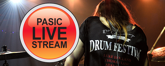 PAS to offer PASIC15 Drumset Clinics via Live Stream