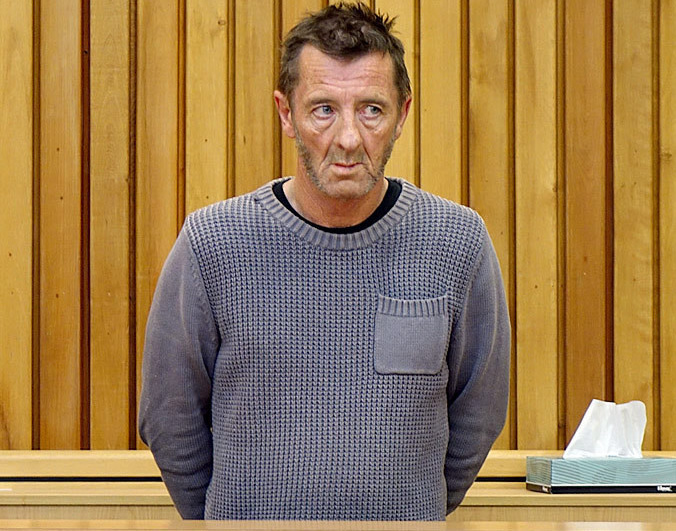Phil Rudd makes bizarre appearance in court