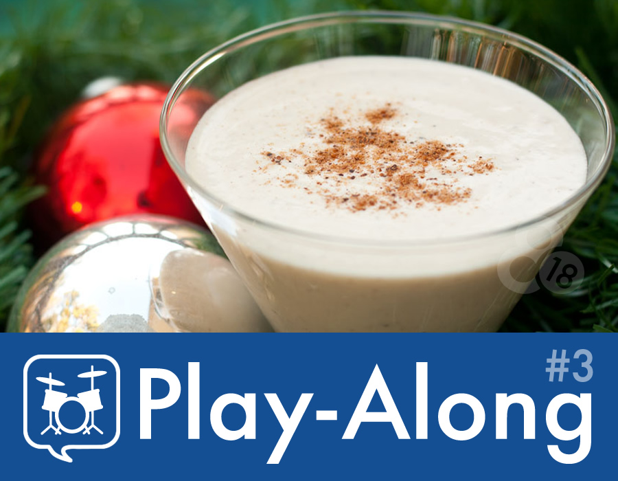 Drummer Talk Play-Along 3 – Egg Nog (93 BPM)