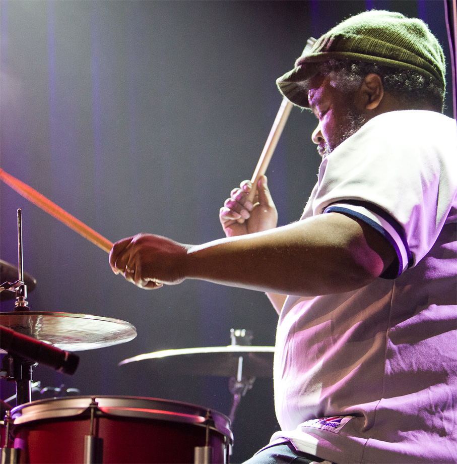 Drummer's role According to Poogie Bell