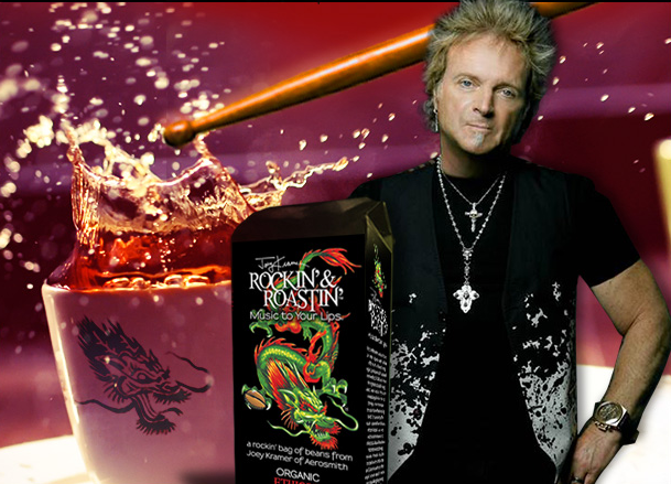 Now Joey Kramer has a line of coffee