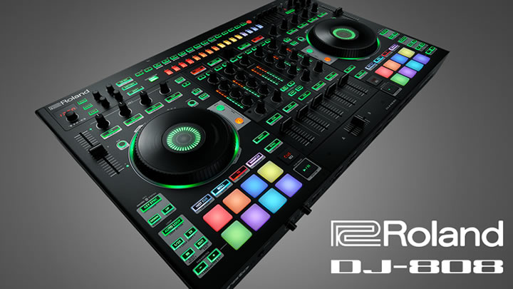 Roland Launches New Drum Machine/DJ Controller