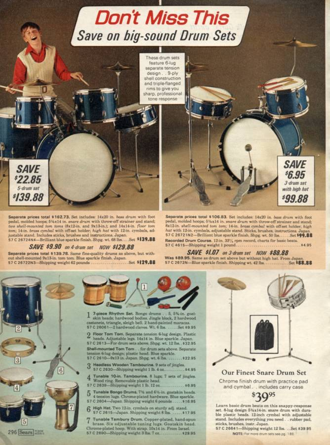 From the 1969 Sears Christmas Catalog! #throwbackthursday