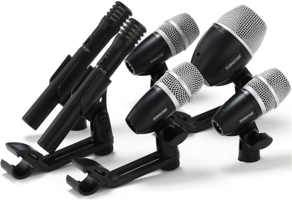 8 Drum Mic Kits Tested by Electronic Musician