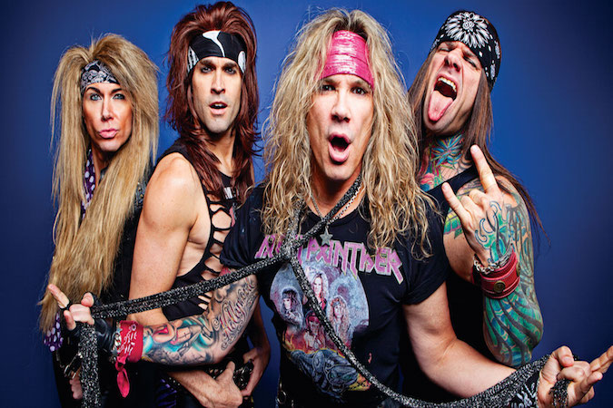 Scottish Fan Plays Drums on Stage with Steel Panther